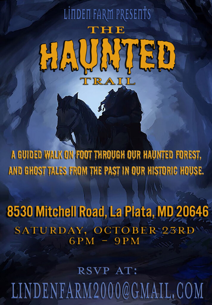 Flyer for the 2021 Haunted Trail