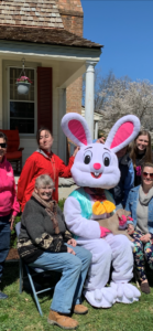 Easter Bunny and Staff