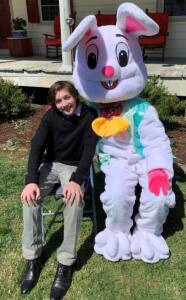 Easter Bunny and Friend